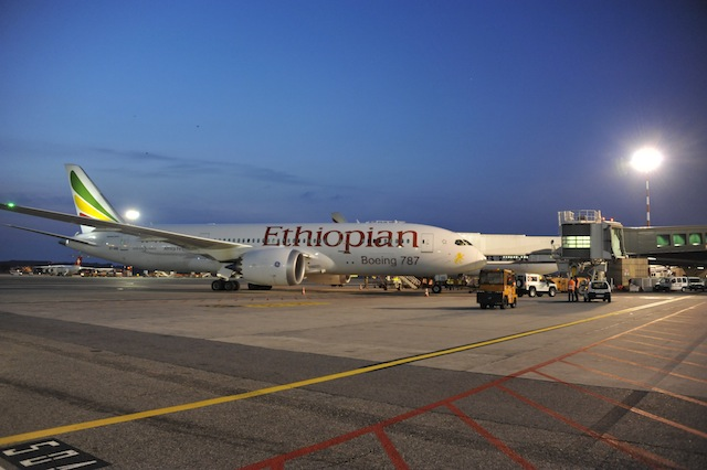 Boeing 787 Dreamliner di Ethiopian Airlines