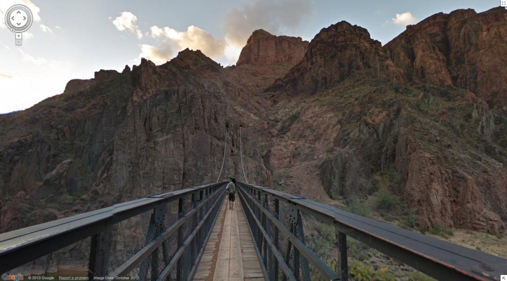 google maps - grand canyon