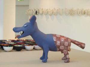 Ceramica è anche arte. Opera di Miho Okai, artigiana giapponese trapiantata a Faenza