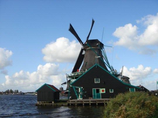 Zaanse-Schans-Olanda