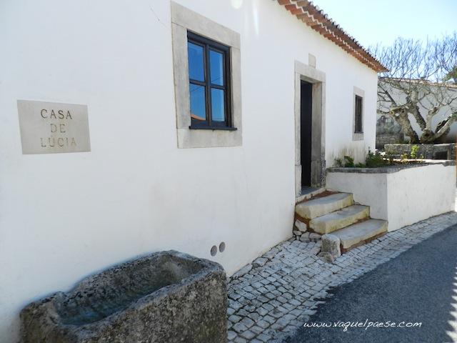 La casa della veggente Lucia, poi diventata suora