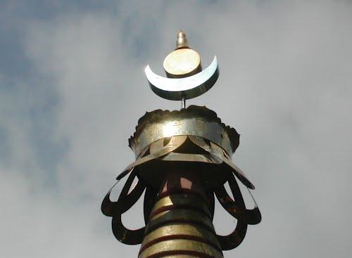 Simboli buddhisti a Bordo