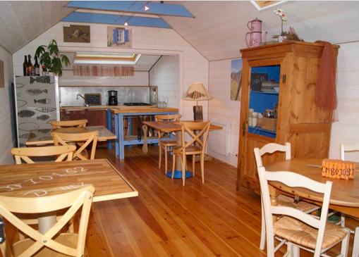 L'Abri du Marin, lo spazio comune per la colazione