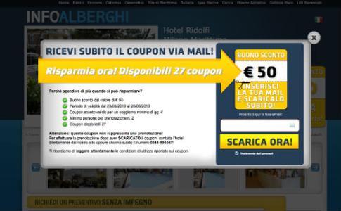 i coupon viaggi di Info Alberghi