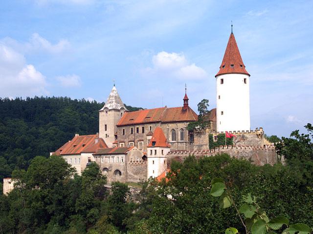 Il castello di Krivoklat