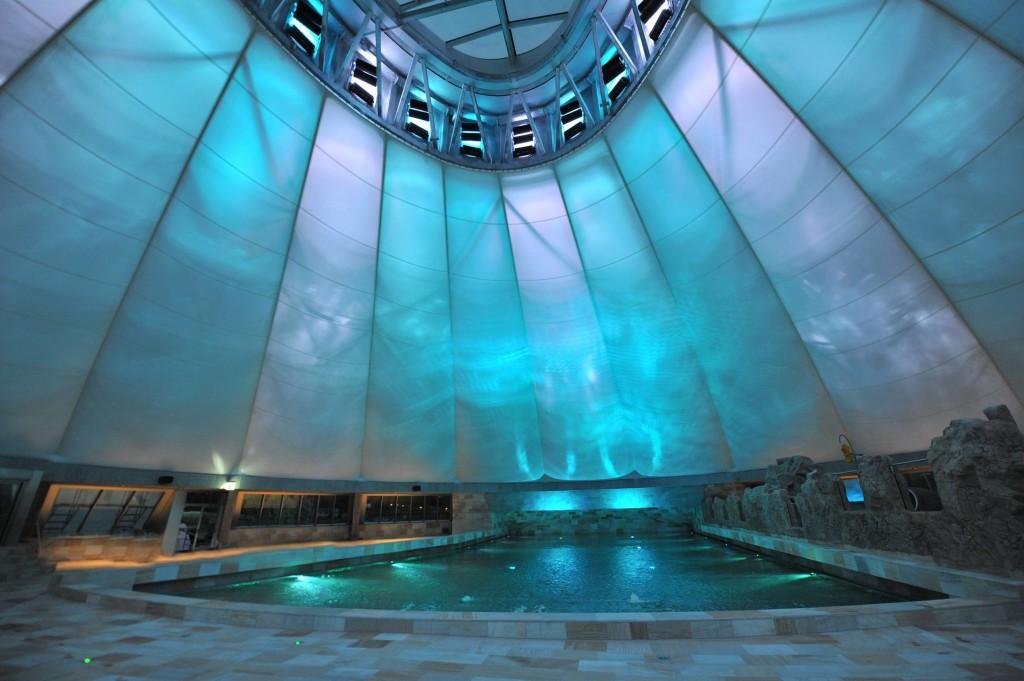 Le cupole di Splash&Spa Tamaro