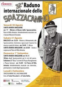 Il programma del raduno degli spazzacamini a Santa Maria Maggiore