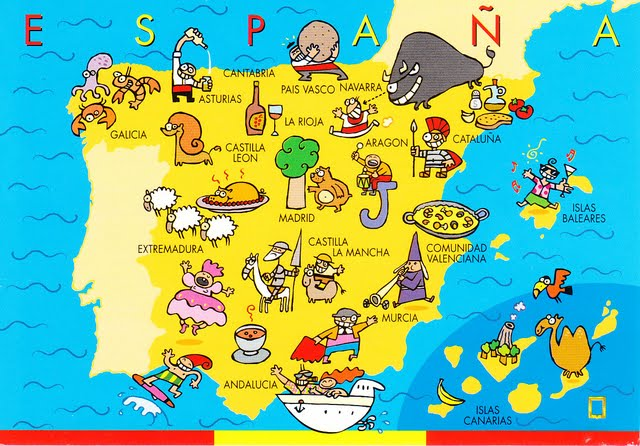 spagna on the road tappe