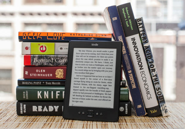 Il Kindle come quello che ho preso io (quello da 59 euro per intenderci): lo adoro! E' leggerissimo e si vede super bene. Promosso