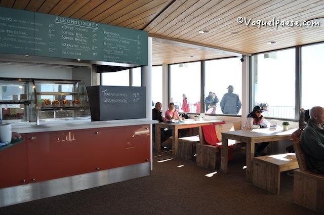Il ristorante girevole più alto del mondo sul Mittel Allalin