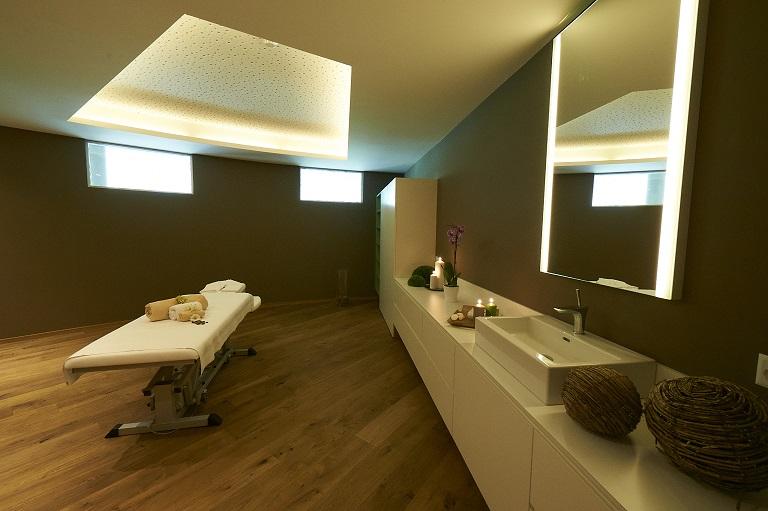 Sala massaggi a Splash & SpaTamaro