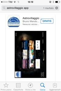 astrovillaggio app