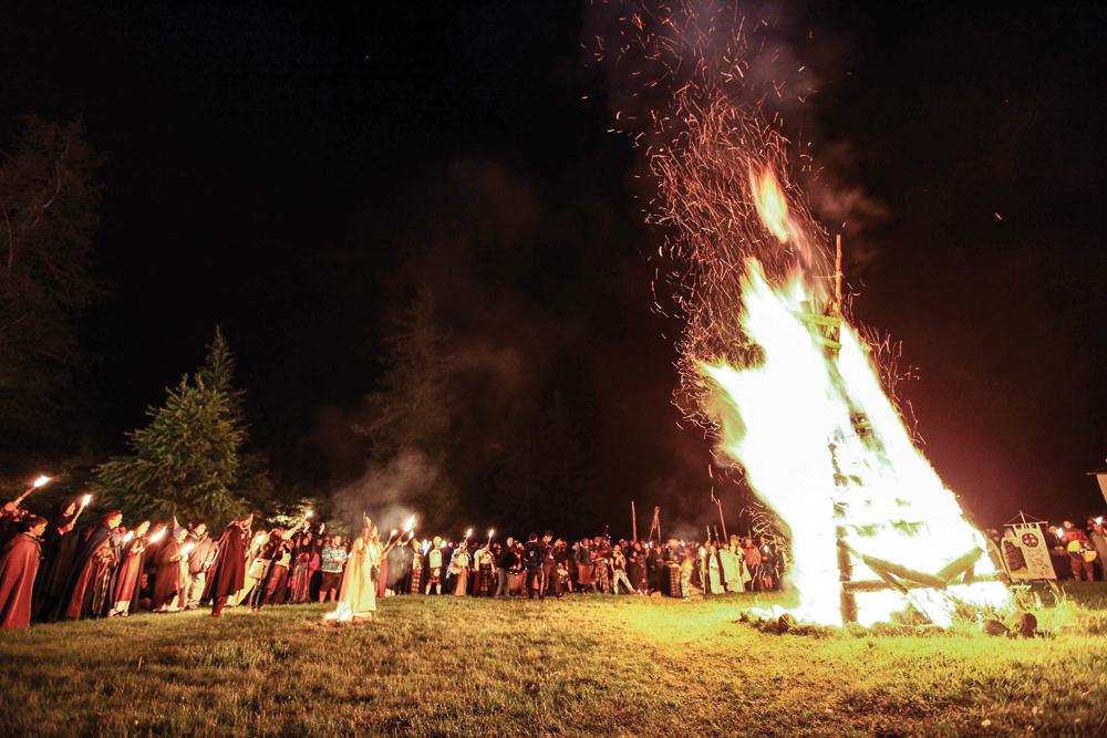 Il grande fuoco druidico