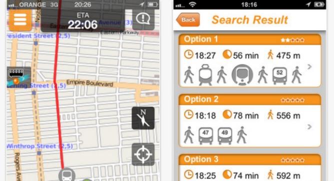 Con Moovit il pianificatore di viaggi ti aiuta a trovare il percorso più veloce con i mezzi