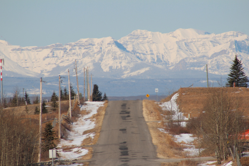 The road to the rockies