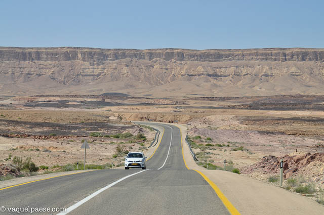 Nel deserto del Negev