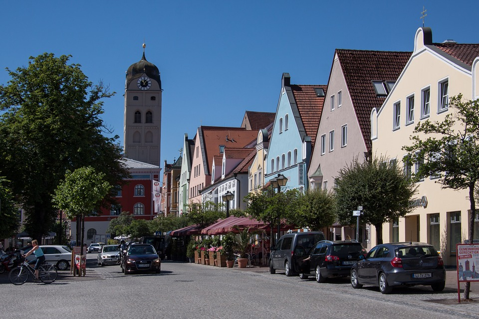 La cittadina di Erding (foto Pixabay)