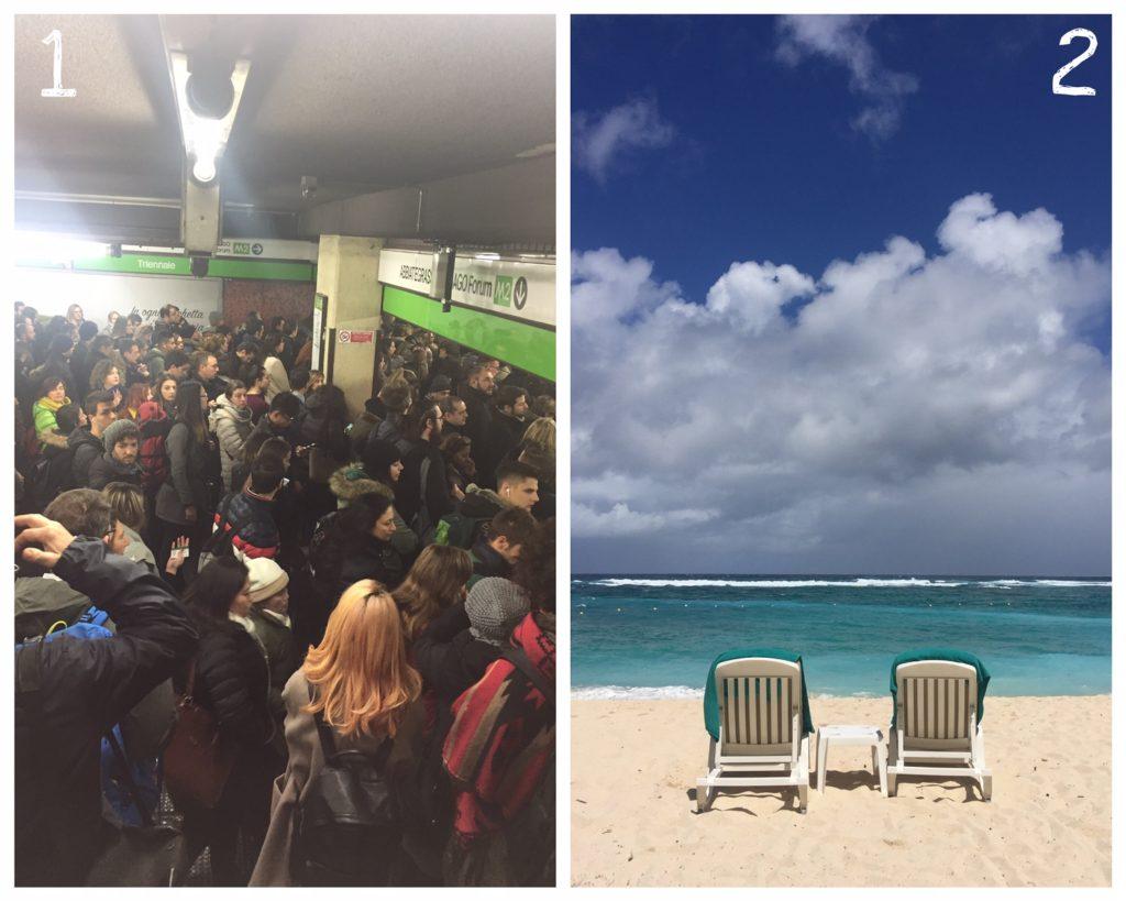 metro e spiaggia