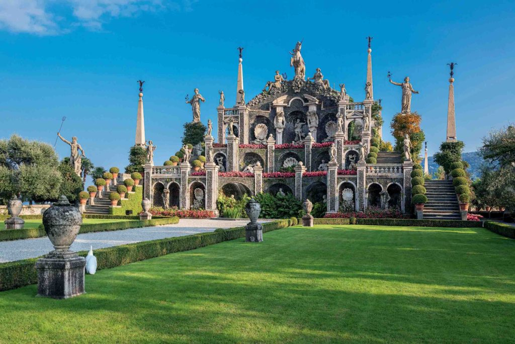 03. I Giardini delle Isole Borromee, Isola Bella, Teatro Massimo, foto di Dario Fusaro_a