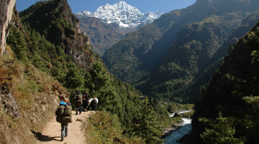 Trekking al campo base everest evolution travel