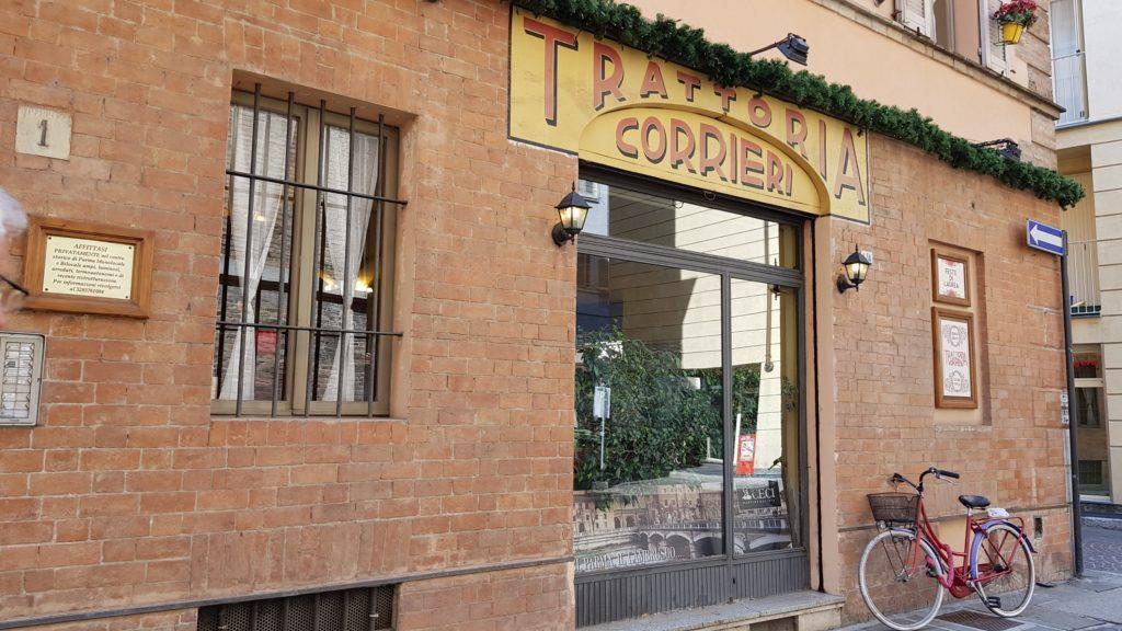 trattoria corrieri Parma