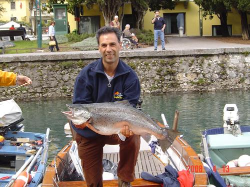 alberto Rania pescatore lago di Garda