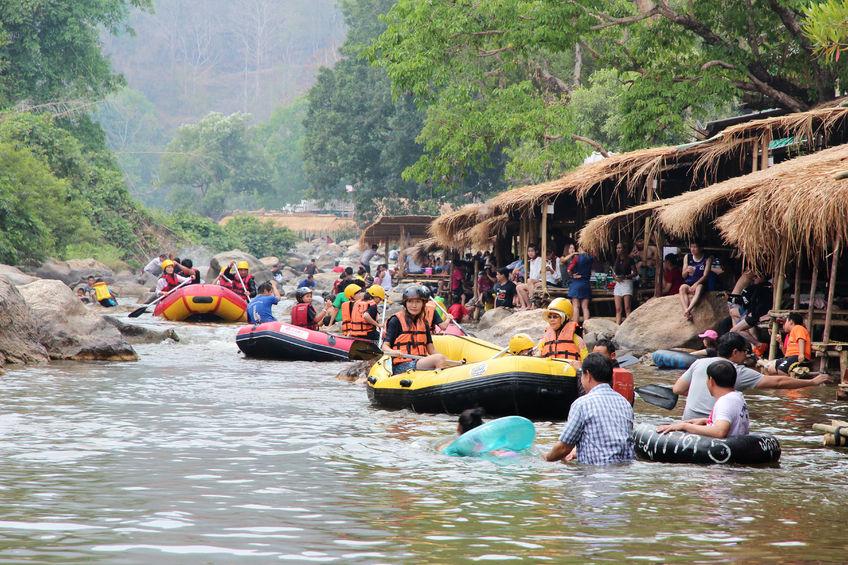 Rafting sul Mae Taeng River