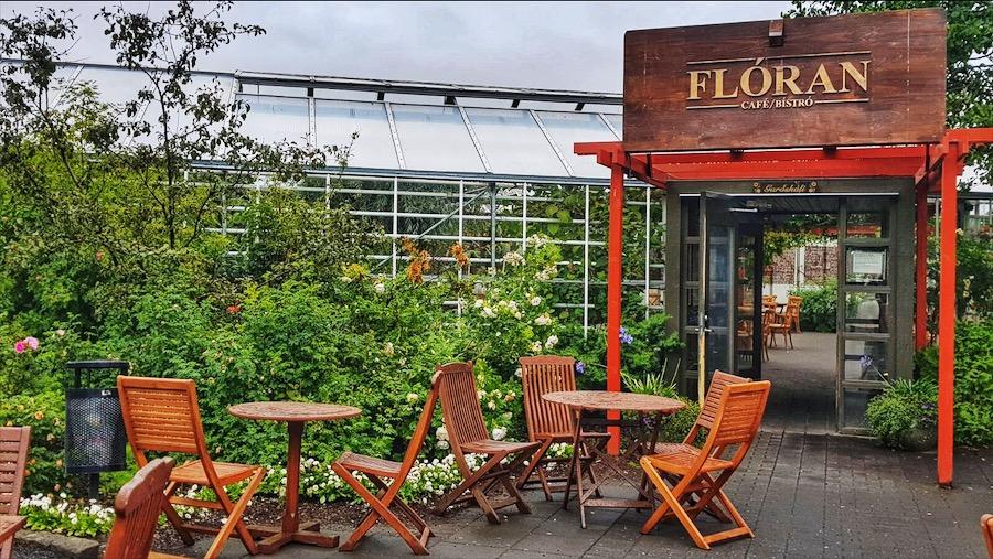 Il caffè Florian, del centro botanico di Reykjavik