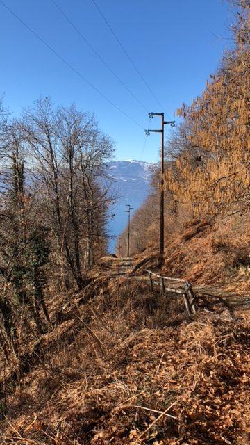 sentiero da Monteggia a Casere