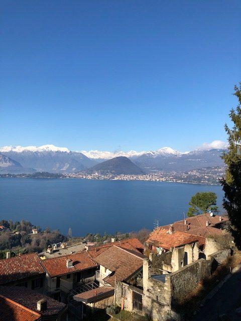 lago maggiore laveno mombello panorama