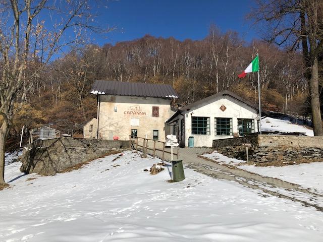 Il rifugio Adamoli al Cuvignone