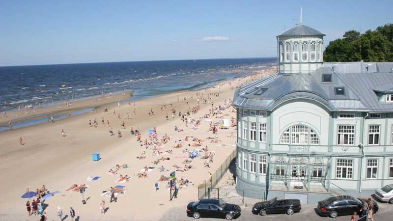 spiaggia jurmala lettonia