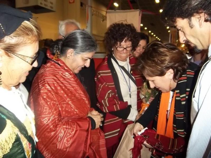 A Tiriolo, il vancale calabrese contro la violenza sulle donne