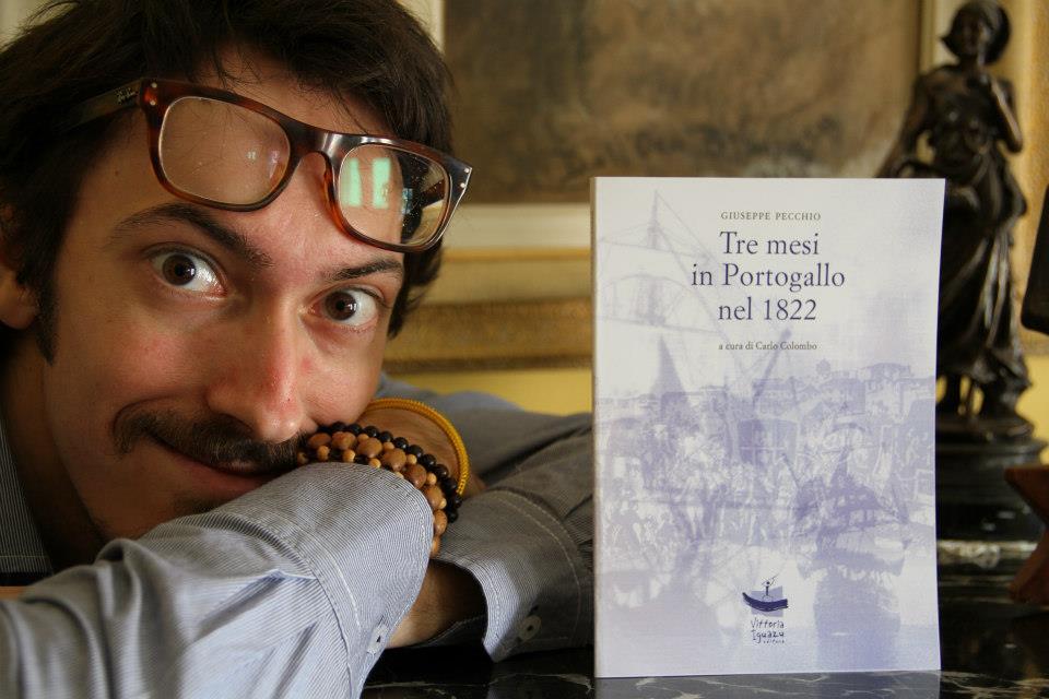 """""""Tre mesi in Portogallo nel 1822"""" viaggio indietro nel tempo, con Giuseppe Pecchio e Carlo Colombo"""