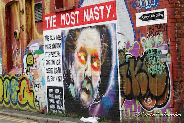 Breve viaggio nell'Irlanda del Nord #3: i murales di Belfast [gallery foto]