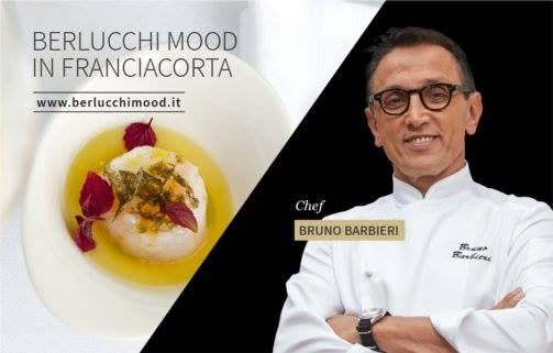 Lo chef Bruno Barbieri e Berlucchi Mood al Festival Franciacorta