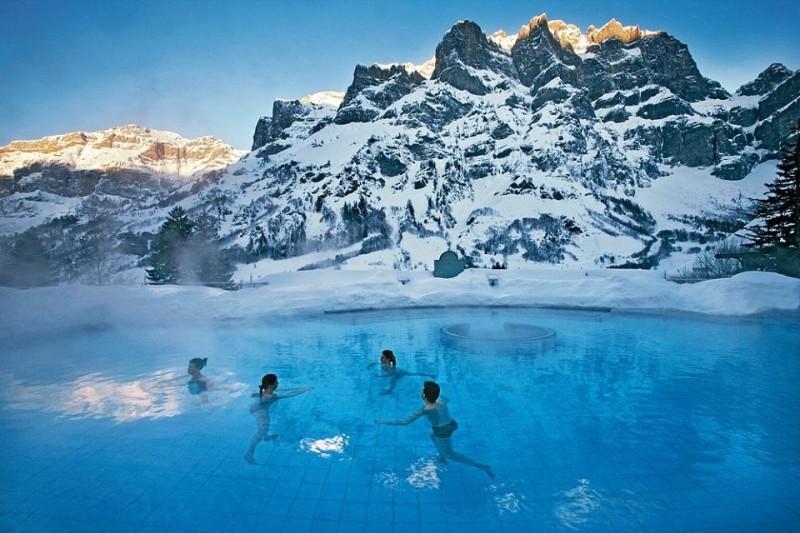 Bagni Termali Svizzera : Leukerbad terme tre centri termali da provare va a quel paese