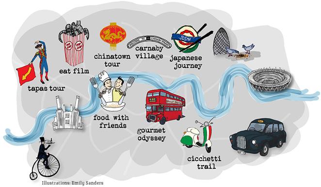 Arriva il London Restaurant Festival: gastronomia, divertimento e cultura uniti in un'irresistibile formula