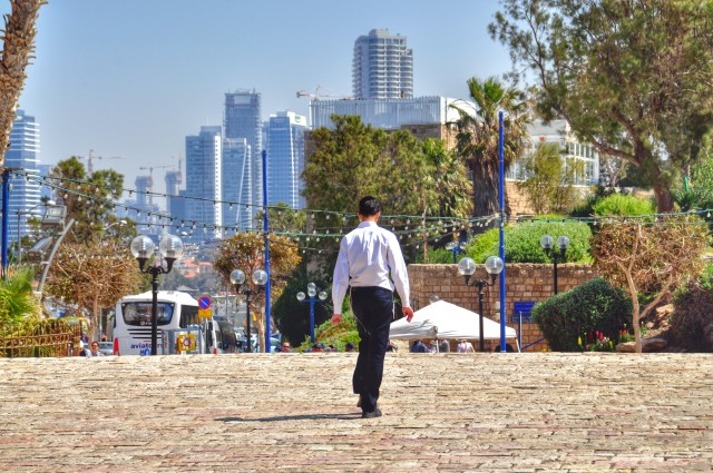 People in Tel Aviv #goisrael