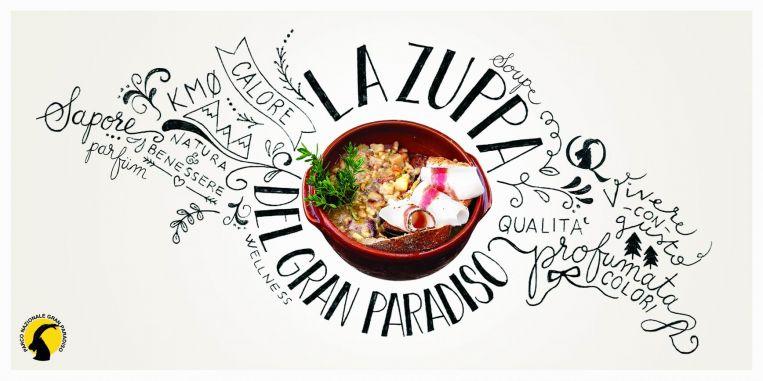 Sapori autentici:  la Zuppa del Gran Paradiso da aprile in tavola