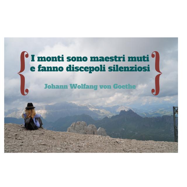 3 frasi sulla montagna che amo (dedicate a Oliviero Bellinzani)