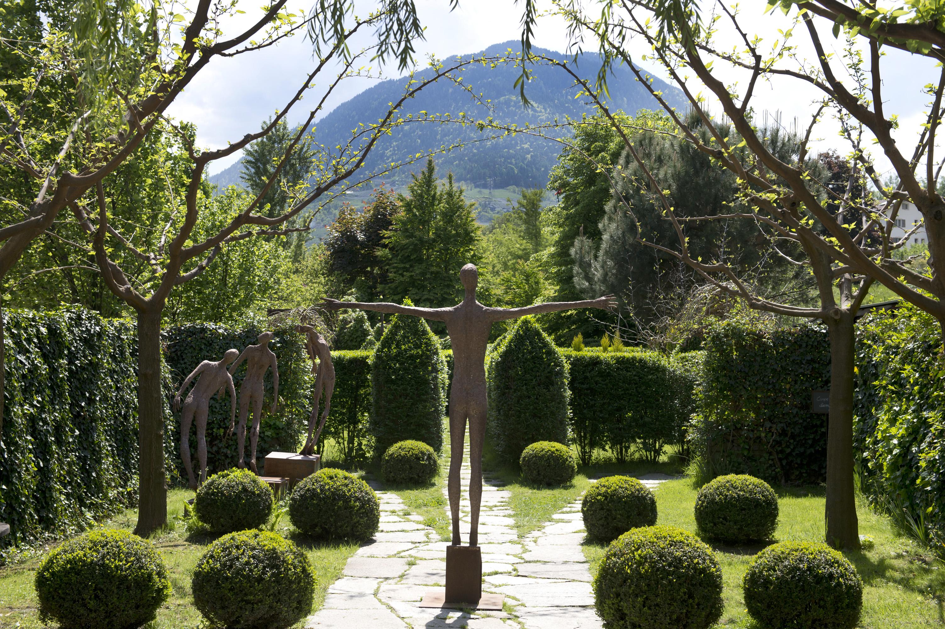 Meditare in un labirinto verde: il Giardino Kränzelhof, a Cermes, in Alto Adige