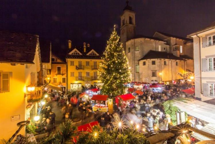 Mercatini di Natale e street food alpino a Santa Maria Maggiore, per il ponte dell'Immacolata