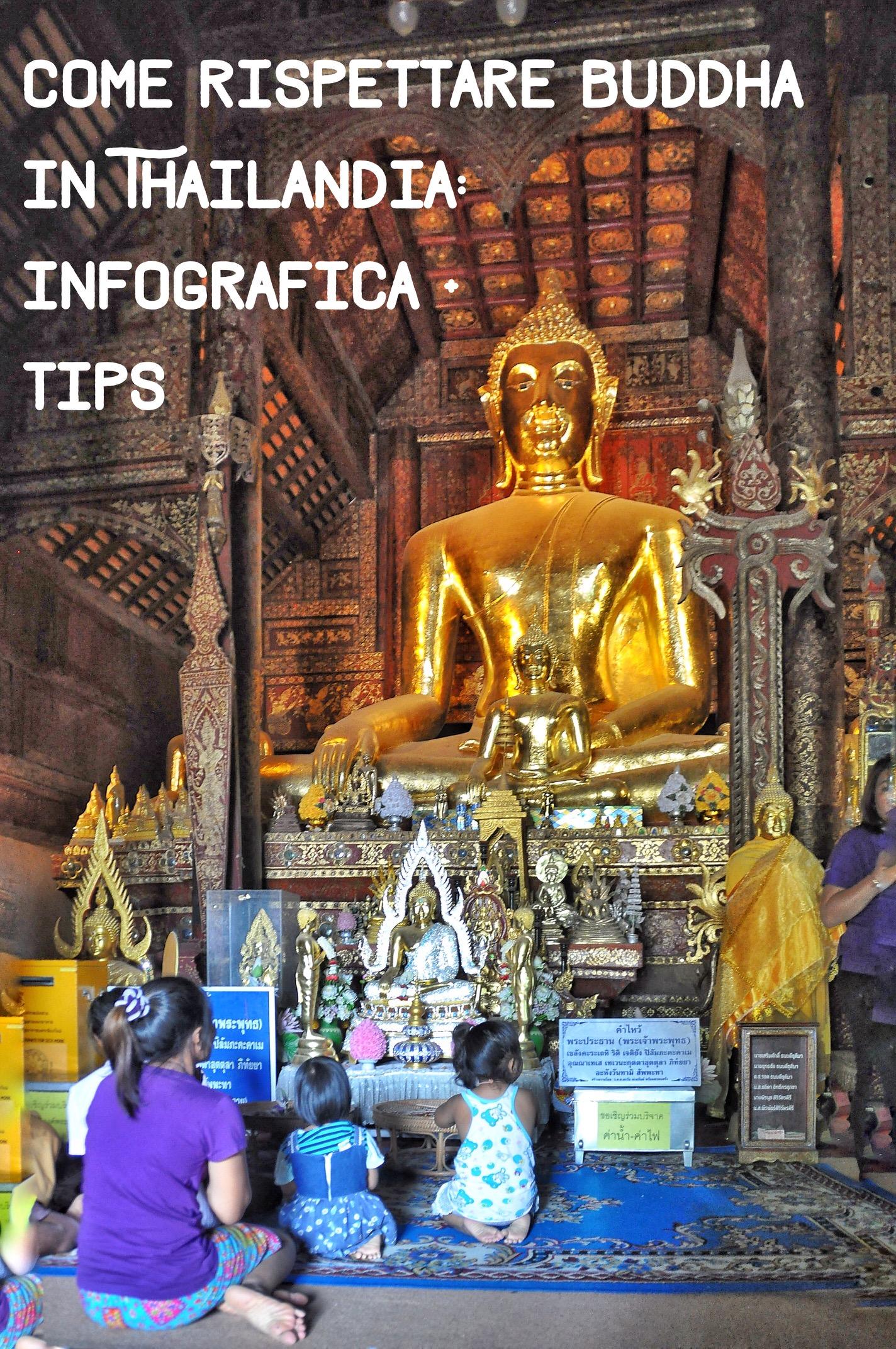 Galateo in viaggio: come rispettare Buddha in Thailandia, al tempio e fuori – INFOGRAFICA