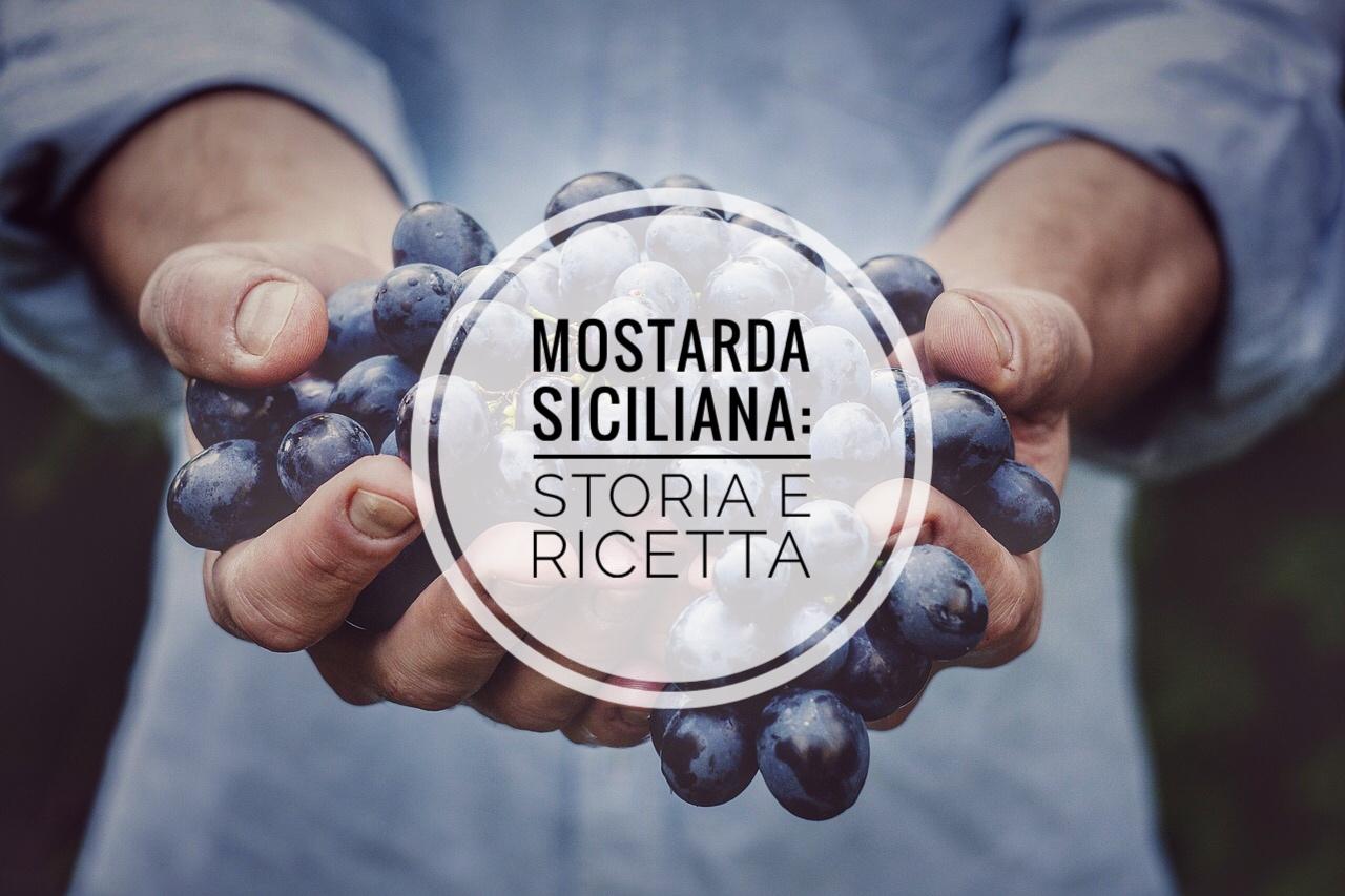 """La """"mustata ri vinu cottu"""": storia e ricetta della mostarda siciliana"""