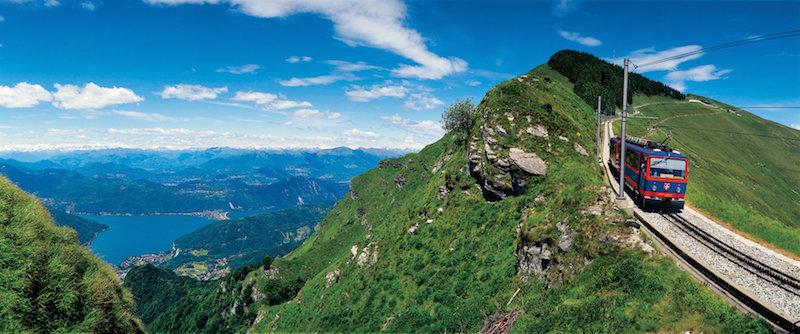 Una gita al Monte Generoso col trenino a cremagliera: sentieri, aria di montagna, prodotti tipici, design… a due passi da Milano