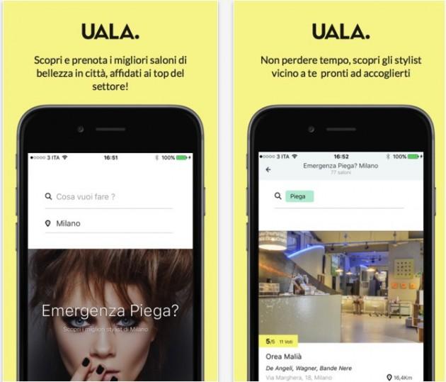 Essere belle in viaggio: UALA, l'app per prenotare parrucchieri e trattamenti estetici ovunque tu sia