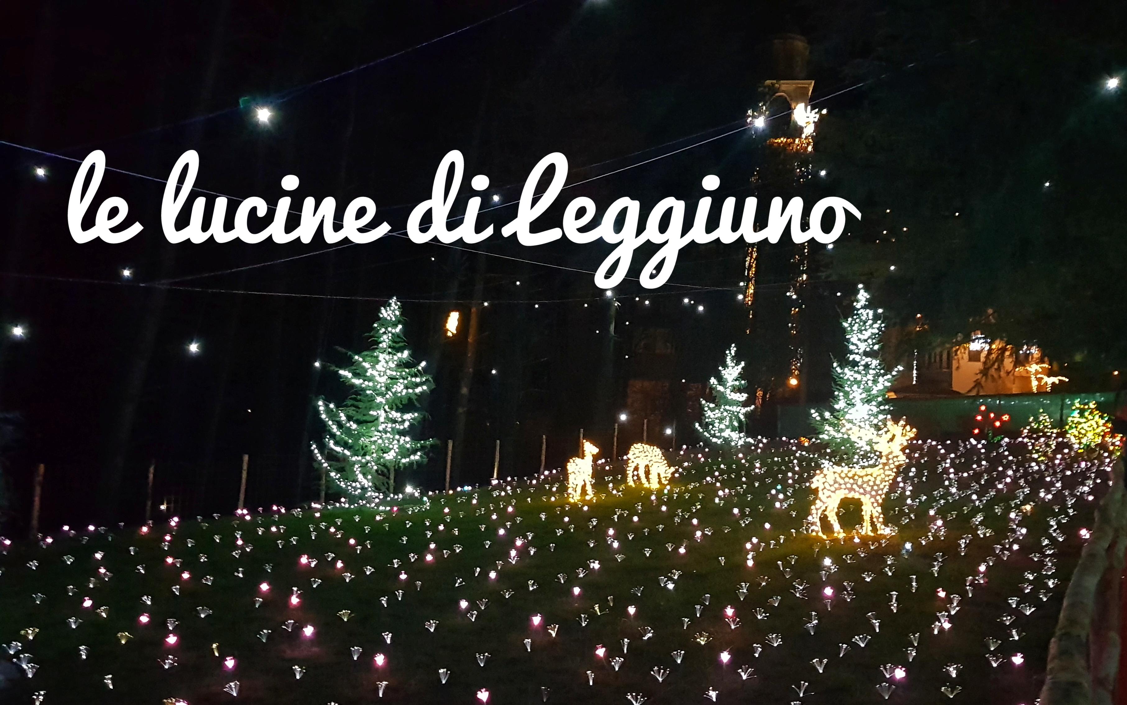 Le lucine natalizie di Leggiuno
