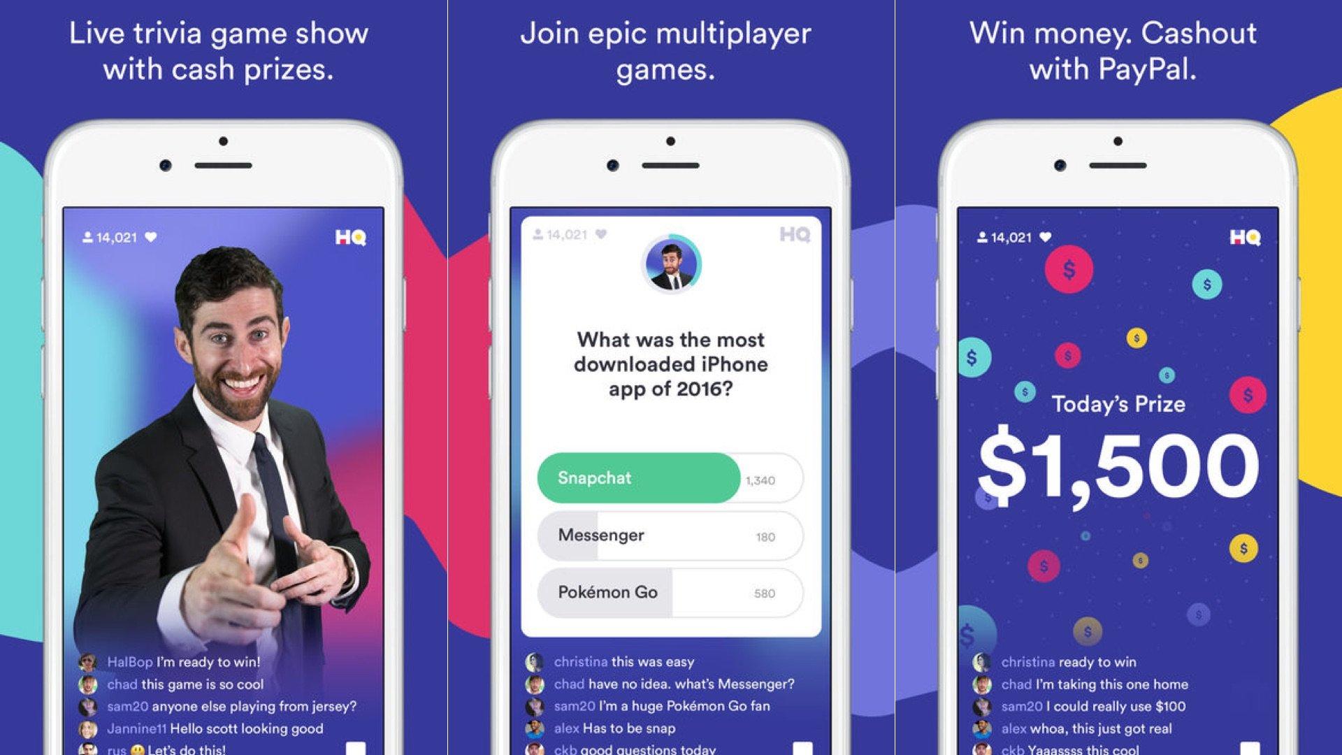 HQ Trivia Game: il gioco a quiz in diretta sullo smartphone, per vincere soldi veri