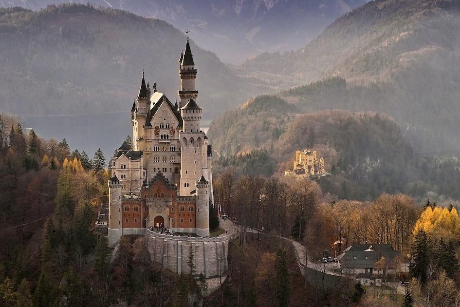 Il fiabesco Castello di Neuschwanstein (Baviera)